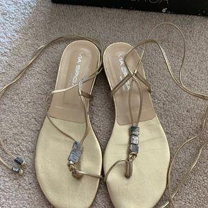 Via Spiga Ankle wrap sandals